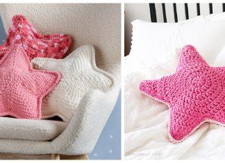 Star Pillow Free Crochet Pattern