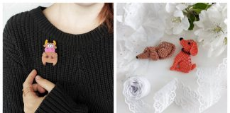 Unique Brooch Crochet Patterns