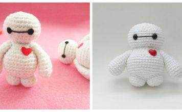 Amigurumi Baymax Free Crochet Pattern