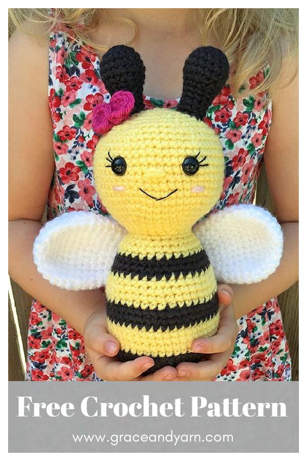 Amigurumi Bumblebee Free Crochet Pattern