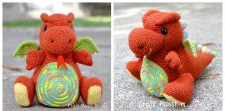 Amigurumi Dragon Free Crochet Pattern