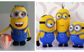 Amigurumi Minions Free Crochet Pattern