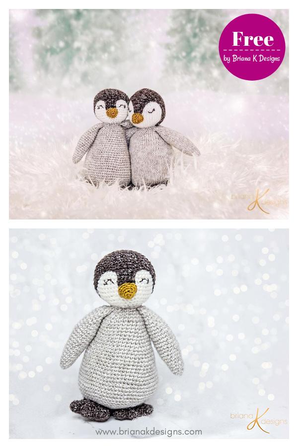 Amigurumi Penguin Buddy Free Crochet Pattern