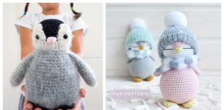 Amigurumi Penguin Crochet Pattern Free and Paid