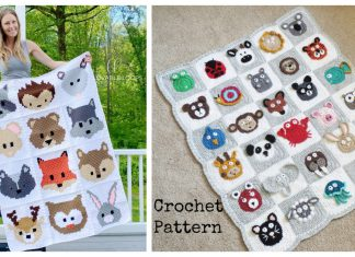 Animals Blanket Crochet Patterns