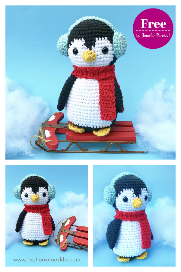 Chilly the Penguin Free Crochet Pattern