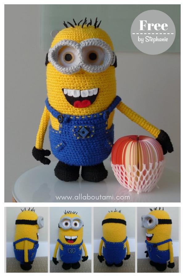 Despicable Me Amigurumi Minion Free Crochet Pattern