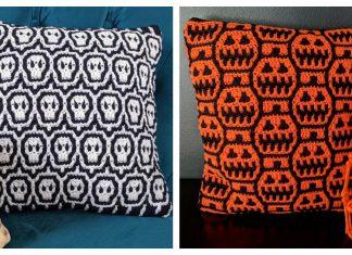Halloween Pillow Crochet Patterns
