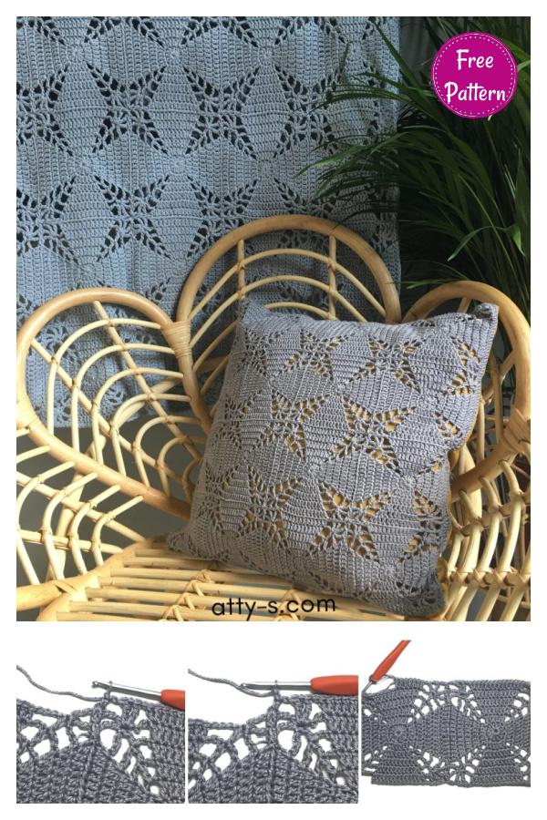 Lucky Star Blanket Free Crochet pattern