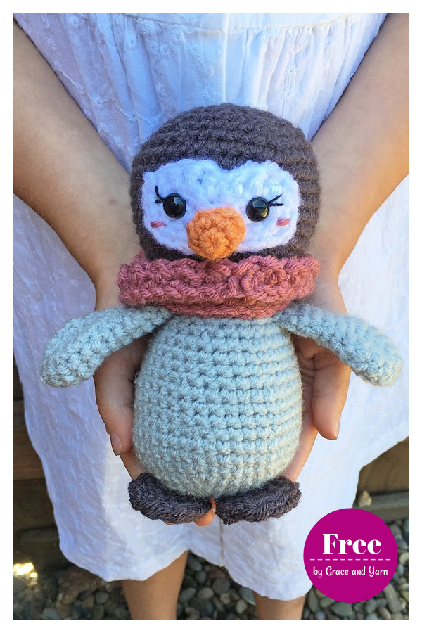 Mini Amigurumi Penguin Free Crochet Pattern