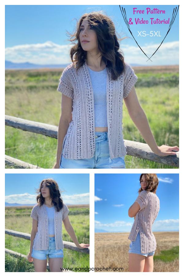 The Windfall Cardigan Free Crochet Pattern