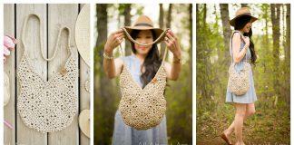 Wildrose Shoulder Bag Free Crochet Pattern