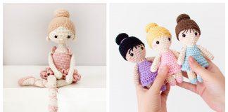 Amigurumi Ballerina Doll Crochet Patterns