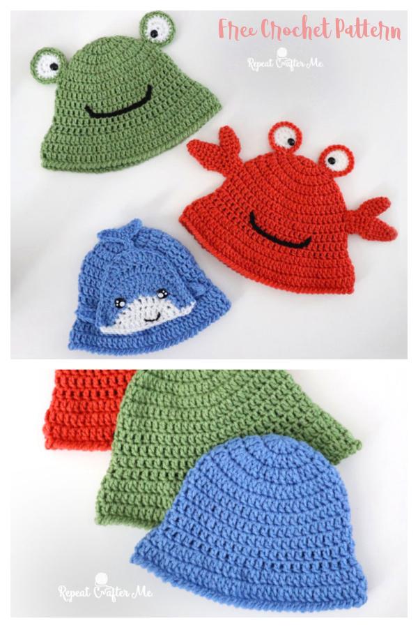 Bucket Hat Free Crochet Pattern
