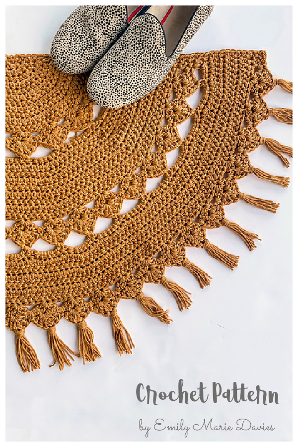 Calliope Rug Crochet Pattern