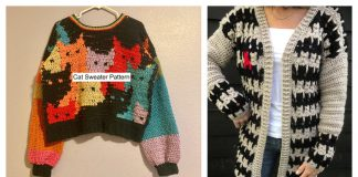 Cat Sweater Crochet Patterns