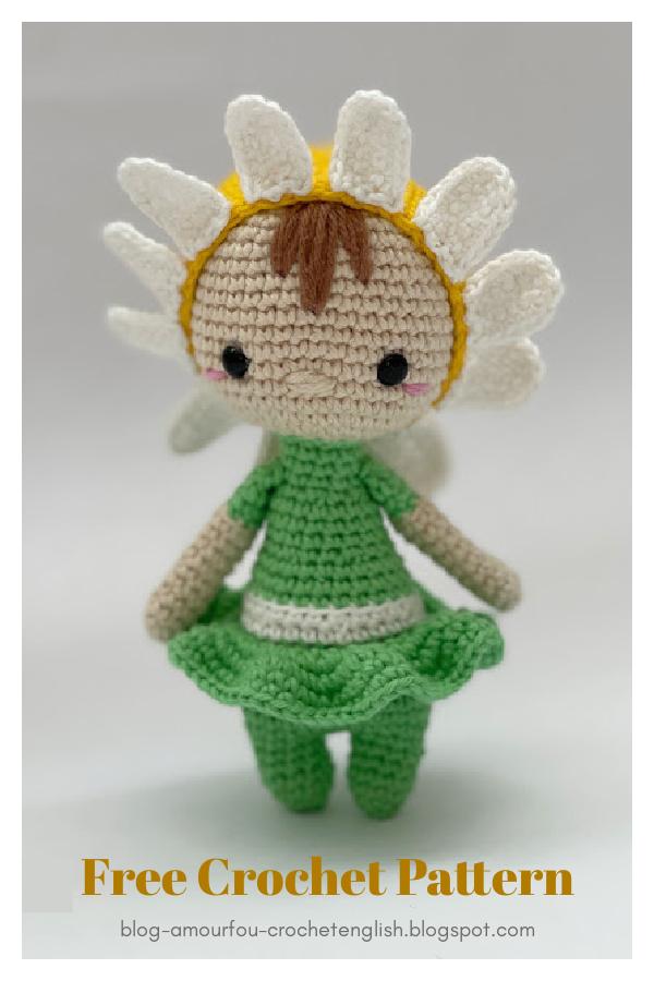 Daisy Doll Free Crochet Pattern
