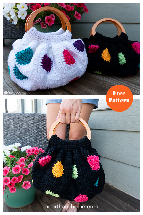 Fat Bottom Bag Free Crochet Pattern