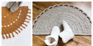 Half Circle Rug Crochet Patterns