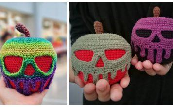 Poison Apple Amigurumi Crochet Pattern