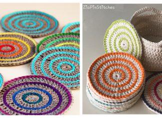 Roller Coasters Free Crochet Pattern