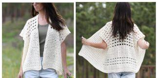 Summer Fun Cardigan Free Crochet Pattern
