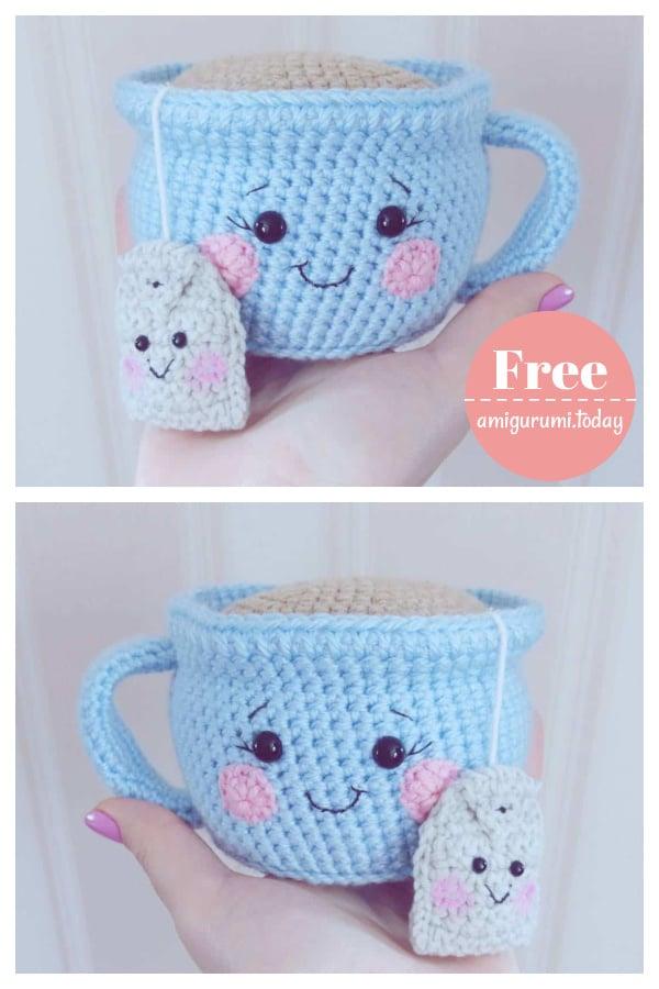 Tea Cup Amigurumi Free Crochet Pattern