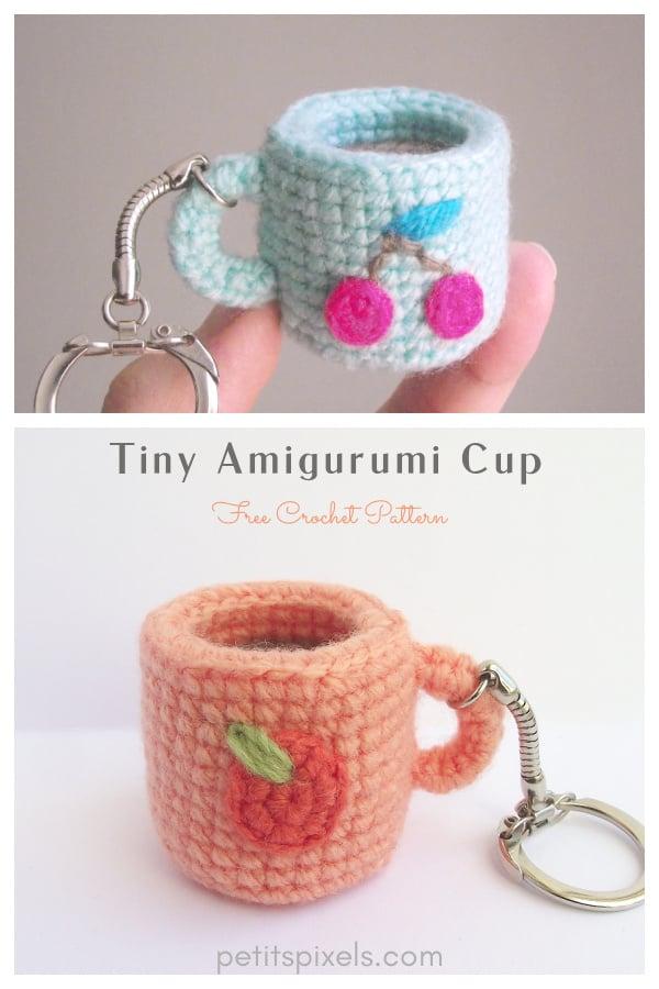 Tiny Amigurumi Cup Free Crochet Pattern