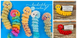 Worry Worm Free Crochet Pattern