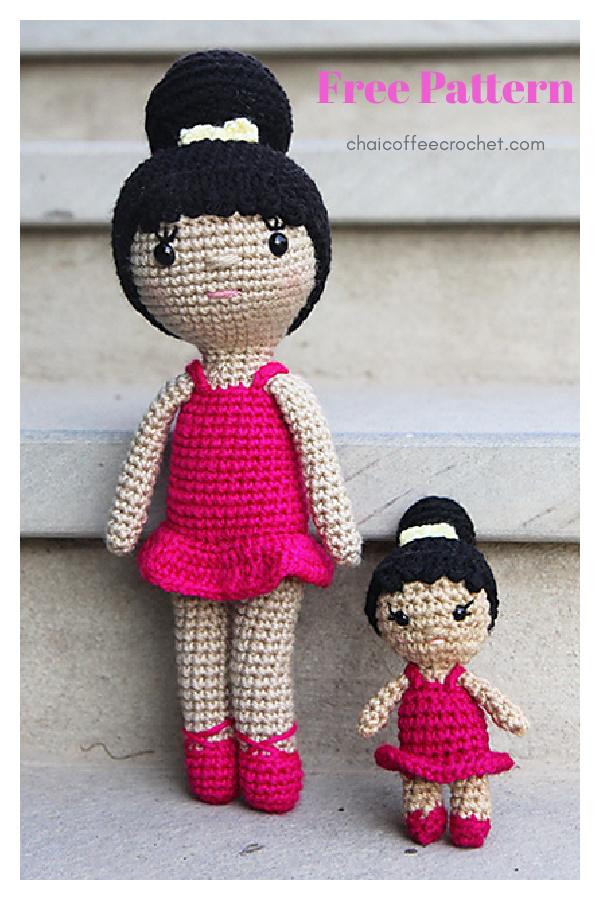 Zoya Ballerina Doll Amigurumi Free Crochet Pattern