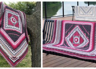 Charlotte's Universe Blanket Free Crochet Pattern