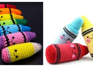 Crayon Amigurumi Free Crochet Pattern