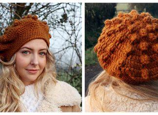 Evie Beret Free Crochet Pattern