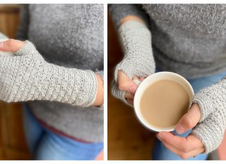 Mystical Mitts Free Crochet Pattern