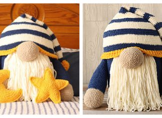 Sleepy Gnome Free Crochet Pattern