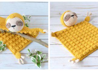 Sloth Lovey Free Crochet Pattern