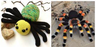 Spider Amigurumi Crochet Patterns