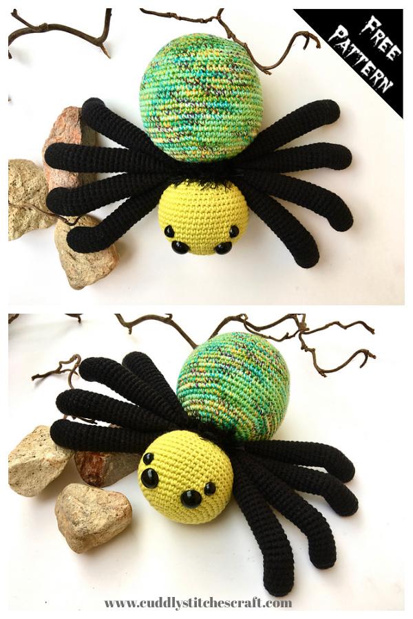 Spider Amigurumi Free Crochet Pattern