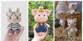 Adorable Amigurumi Pig Crochet Patterns