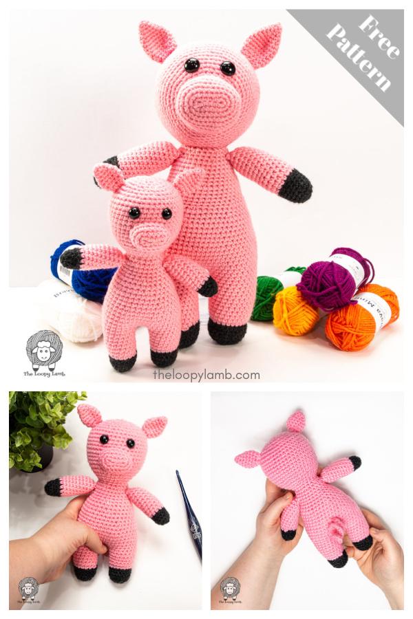 Adorable Amigurumi Piggie Smalls Free Crochet Pattern