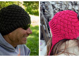 Celtic Weave Hat Free Crochet Pattern