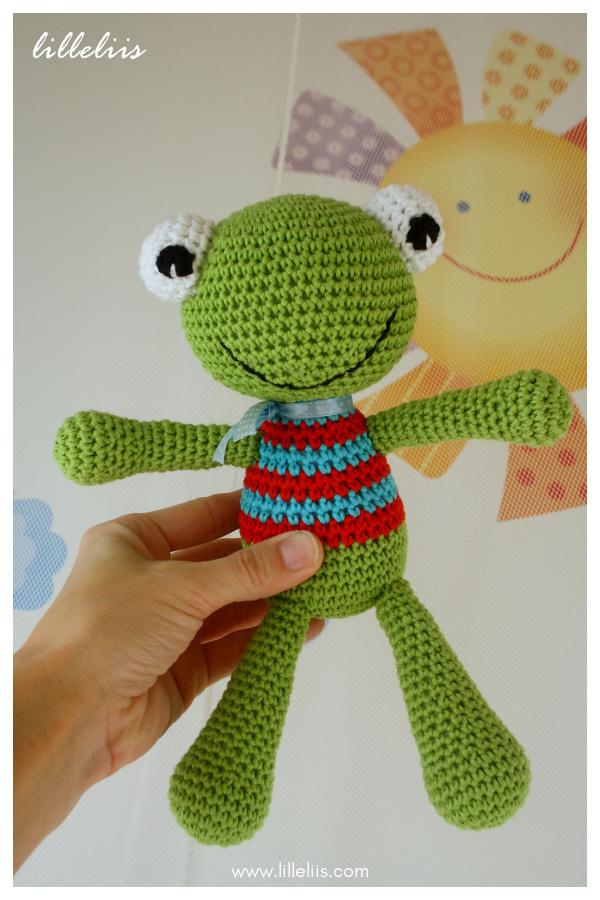 Felix the Frog Amigurumi Free Crochet Pattern