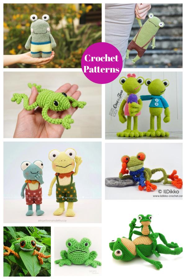 Frog Amigurumi Crochet Patterns