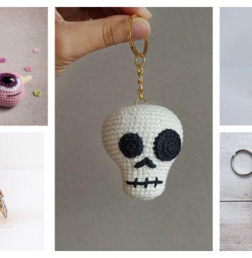 Halloween Keychain Crochet Patterns
