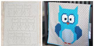Owl Blanket Crochet Patterns