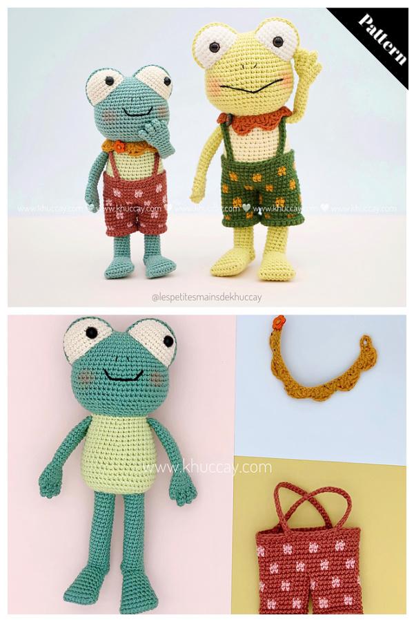 Patrick the Frog Amigurumi Crochet Pattern