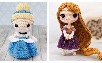 Princess Doll Amigurumi Free Crochet Pattern