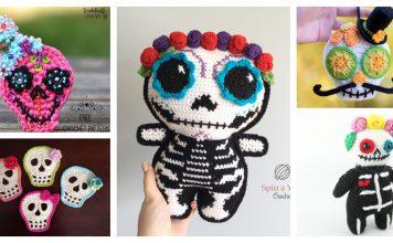 Sugar Skull Crochet Patterns