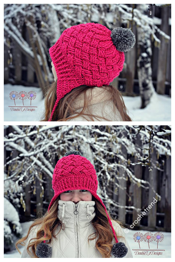 Sun Valley Celtic Weave Hat Free Crochet Pattern