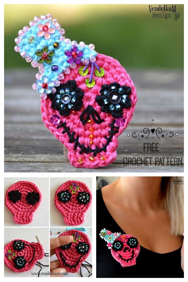 The Sugar Skull Free Crochet Pattern